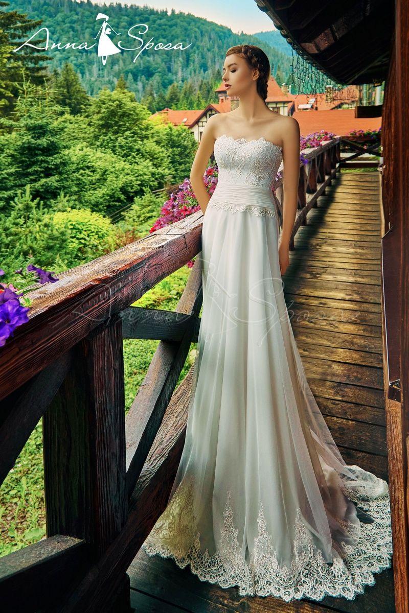 не пышное свадебное платье в Киеве